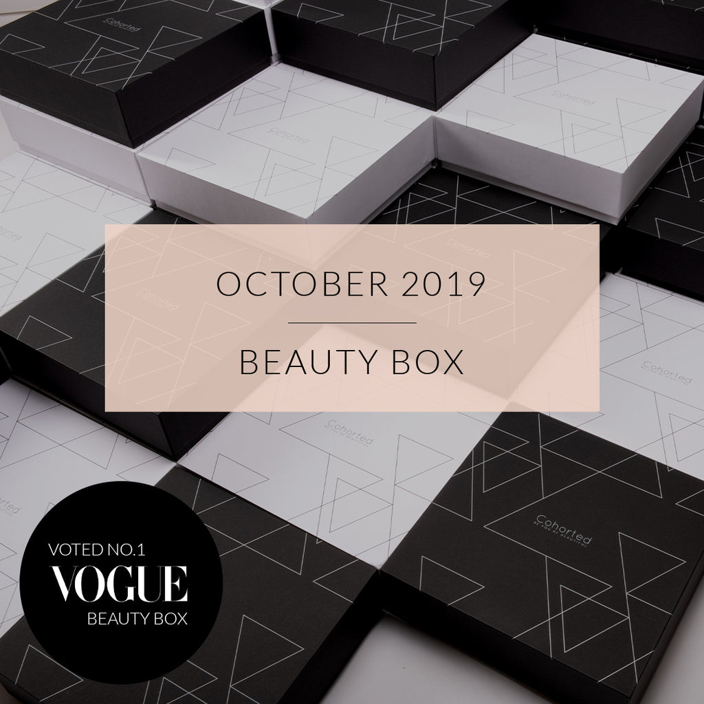 The October 2019 Beauty Box Curation
