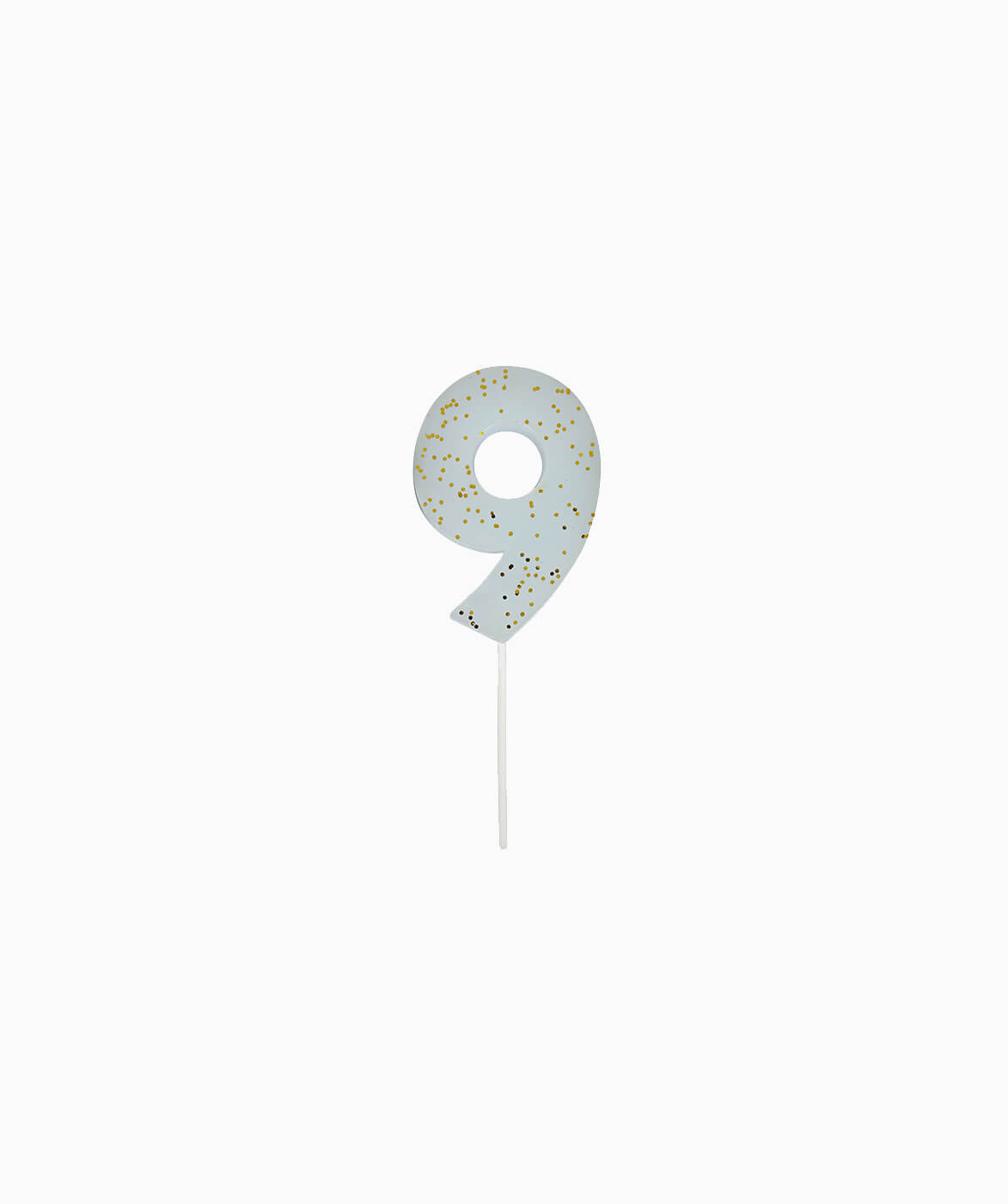 CHUNKY NUMBER CANDLE NINE