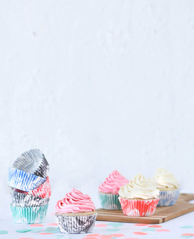 MARBLE CUPCAKE CASES