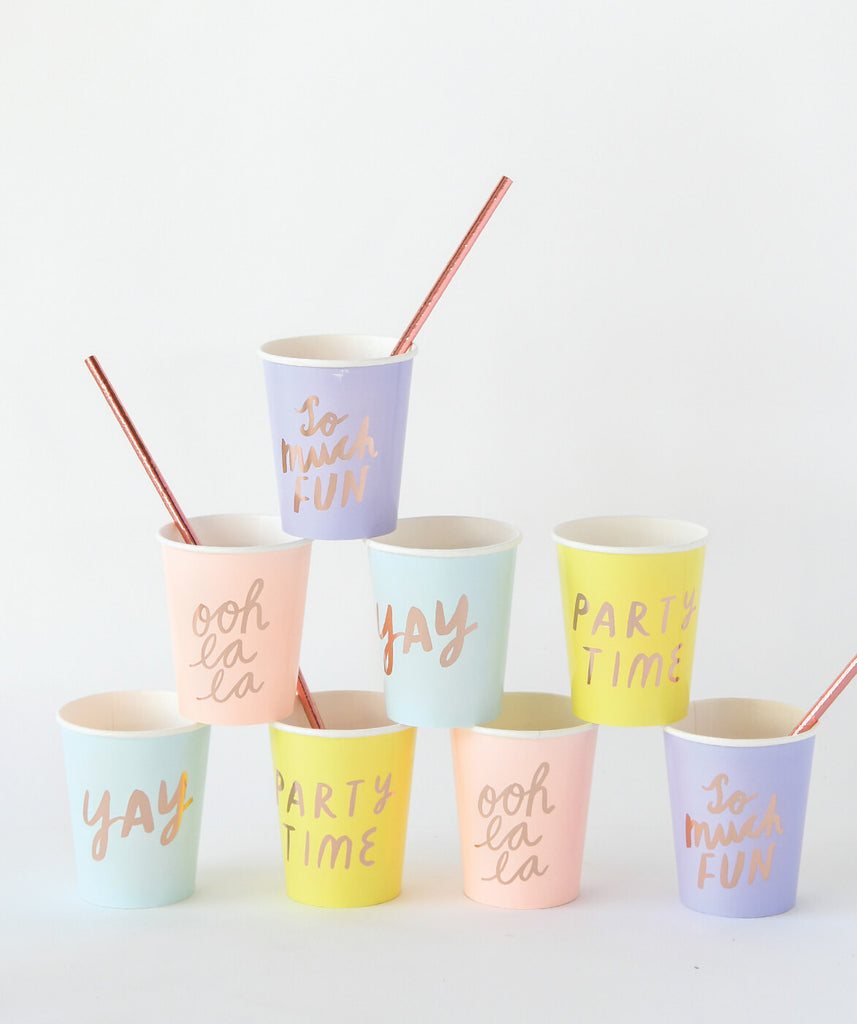 FUN PARTY CUPS