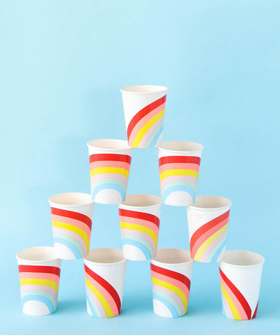 RAINBOW CUPS(ONLY 2  LEFT IN STOCK)