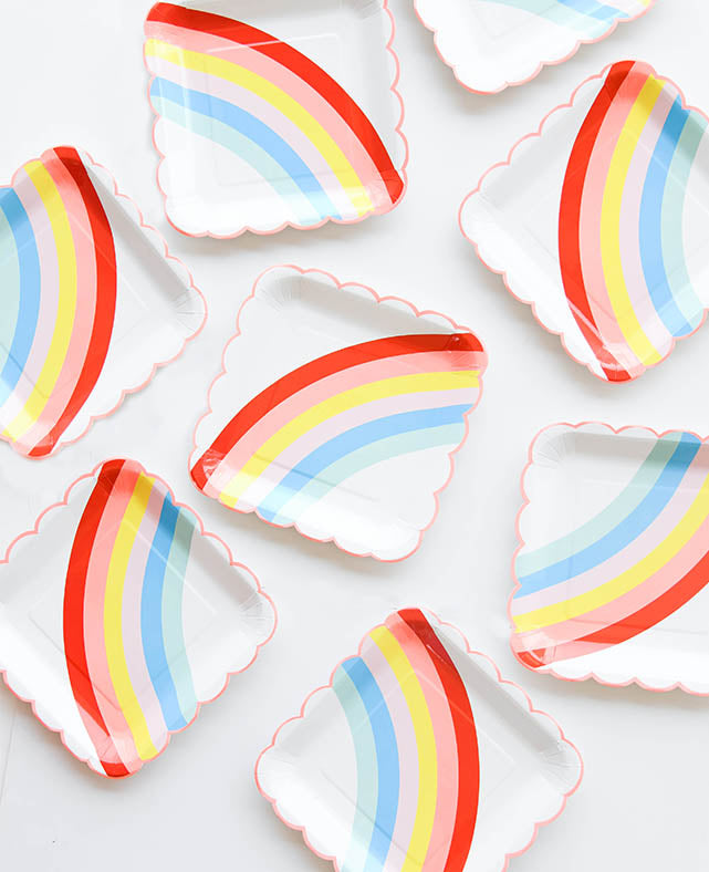 LARGE RAINBOW PLATES (ONLY 2 LEFT IN STOCK)