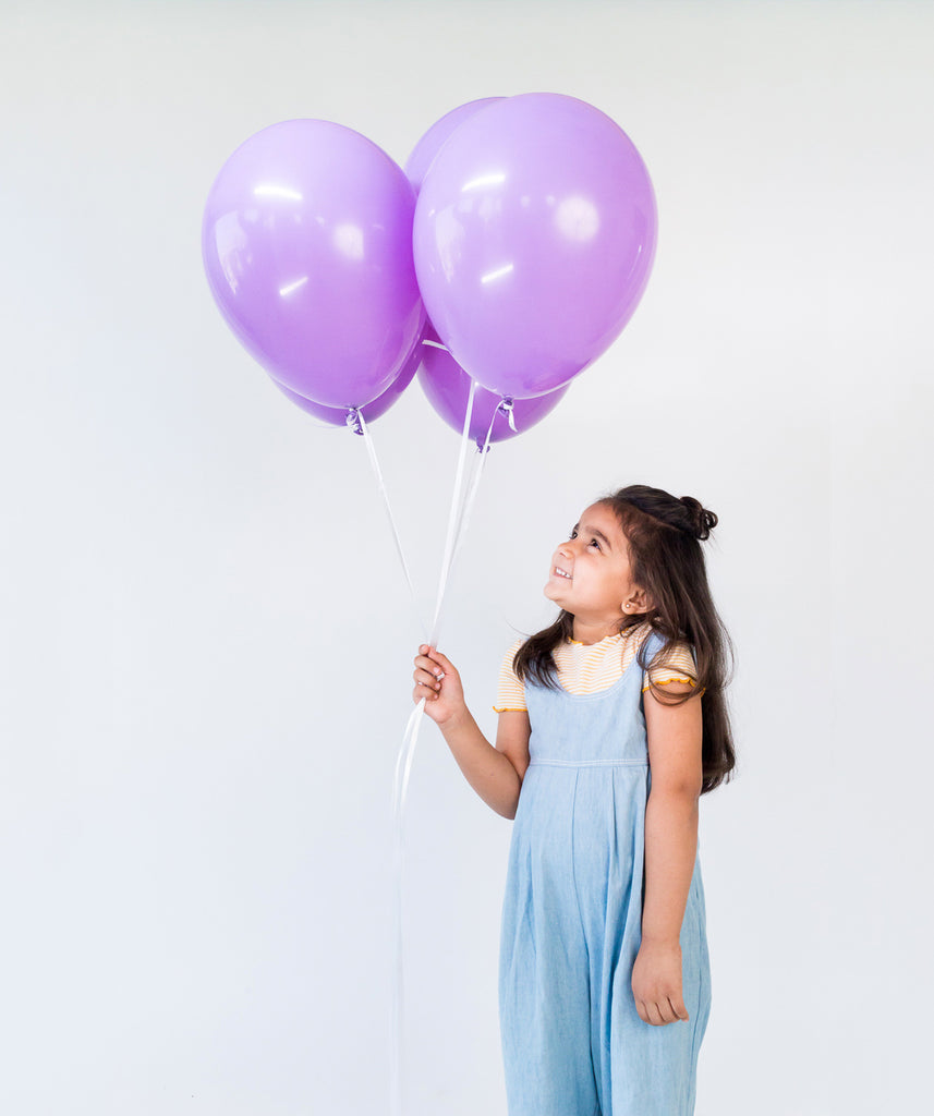 STANDARD SPRING LILAC BALLOONS