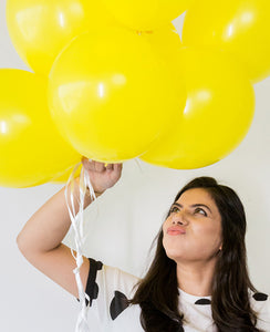 STANDARD YELLOW BALLOON