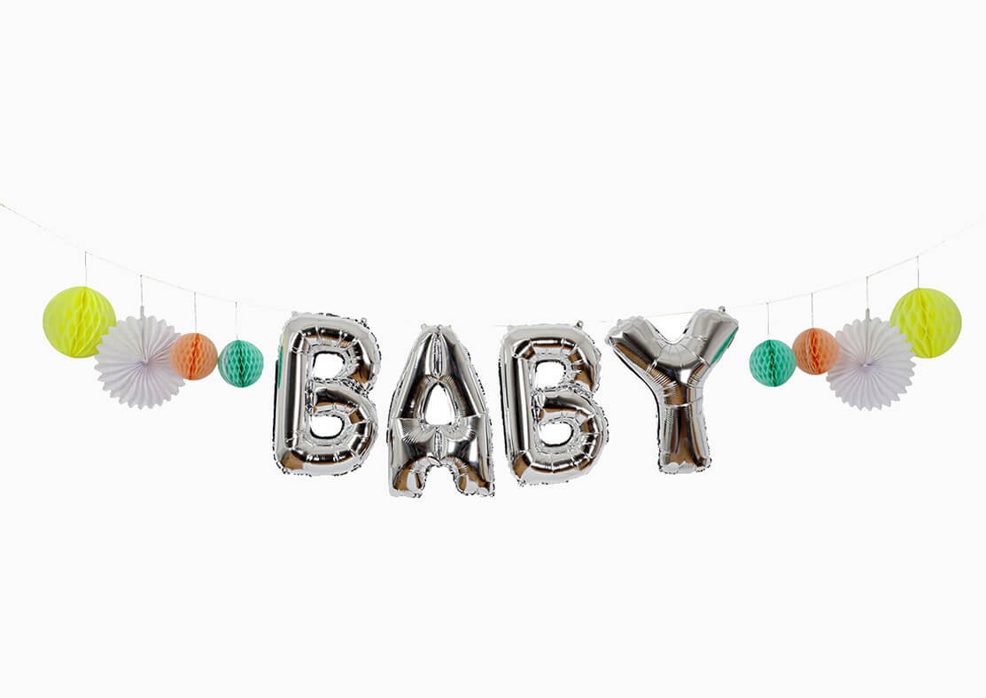 BABY BALLOON GARLAND KIT(ONLY 2 LEFT IN STOCK)