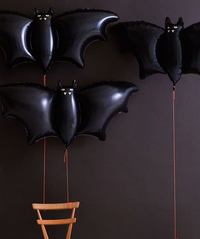 GIANT BAT FOIL BALLOON