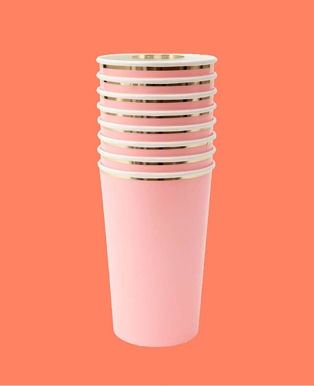 CORAL HIGHBALL CUPS