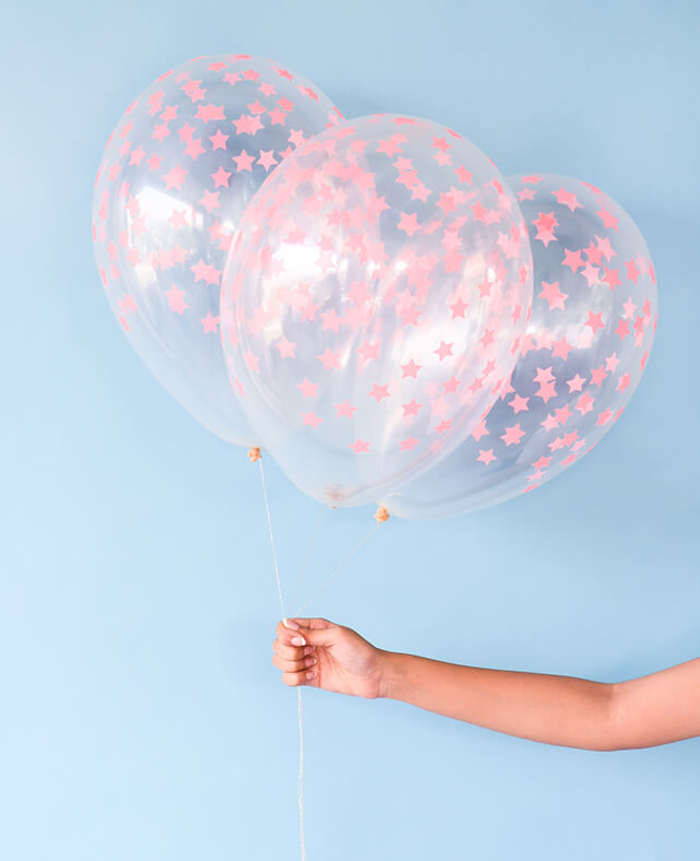 CORAL STAR BALLOON KIT