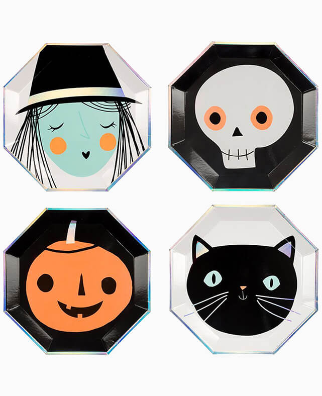 LARGE HALLOWEEN PLATES (ONLY 3 LEFT IN STOCK)