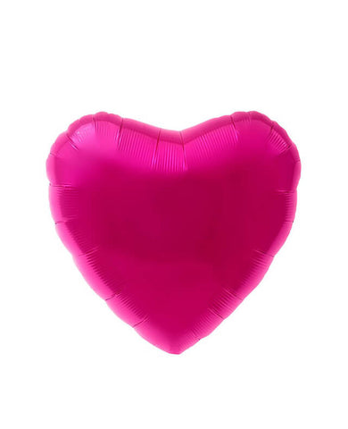 MYLAR HEART BALLOON MAGENTA