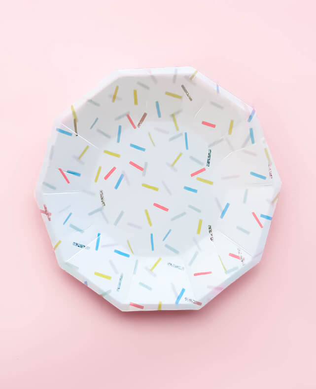 LARGE SPRINKLE PLATES (ONLY 1 LEFT IN STOCK)