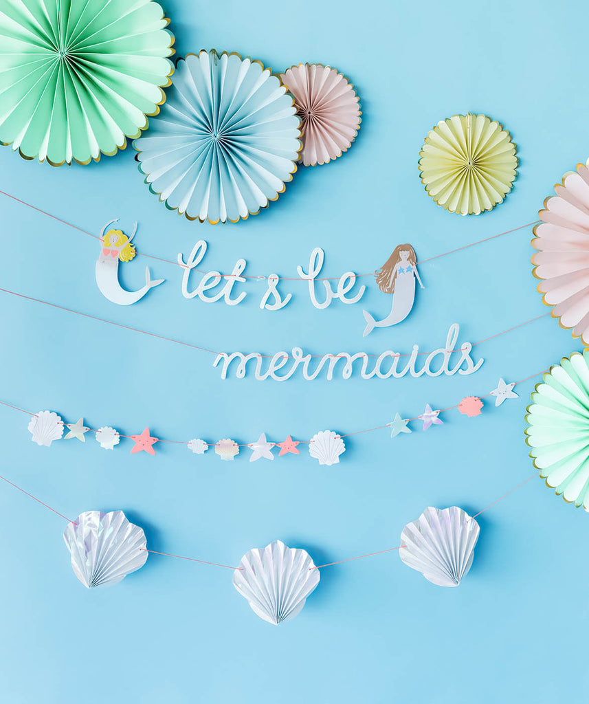 LET'S BE MERMAID GARLAND(ONLY 3 LEFT IN STOCK)