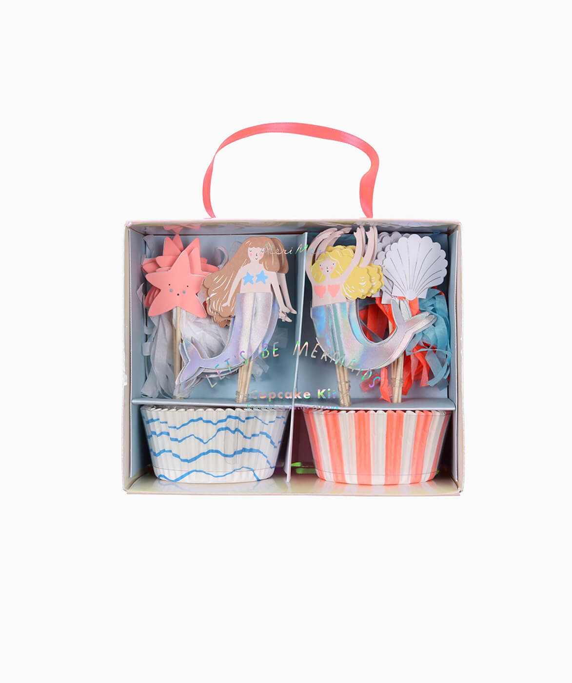 LET'S BE MERMAID CUPCAKE KIT