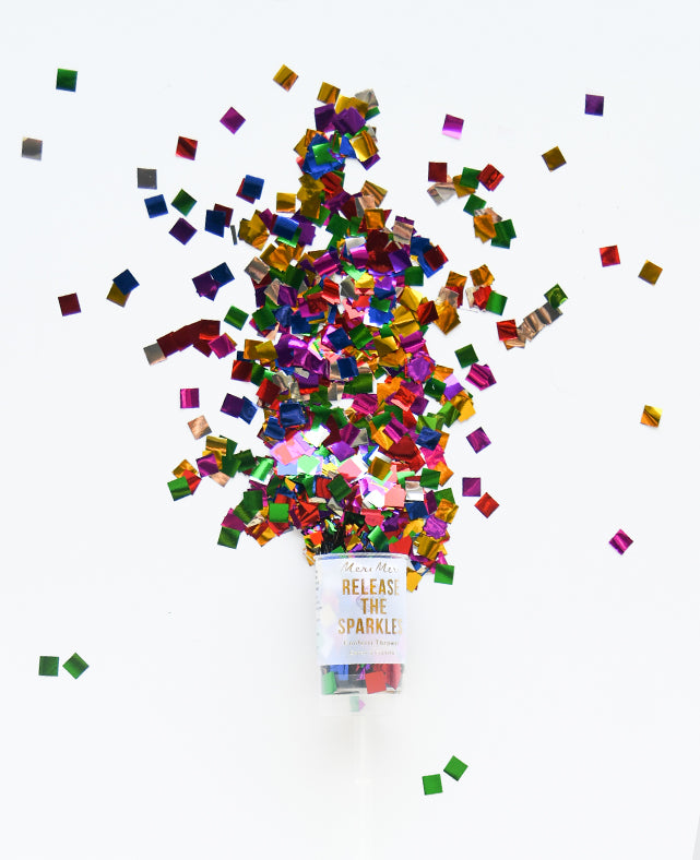 MULTI COLOR CONFETTI POPPER