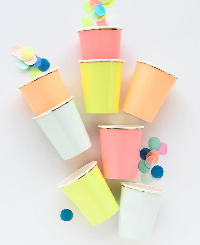 NEON CUPS (ONLY 1 LEFT IN STOCK)