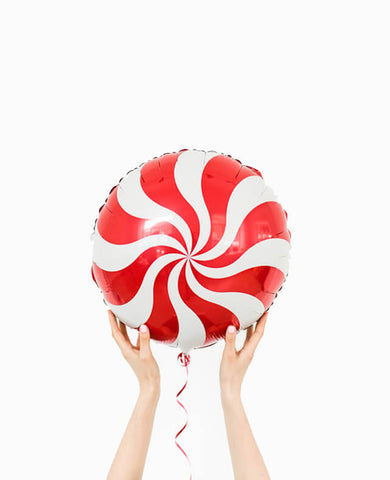 RED CANDY FOIL BALLOON