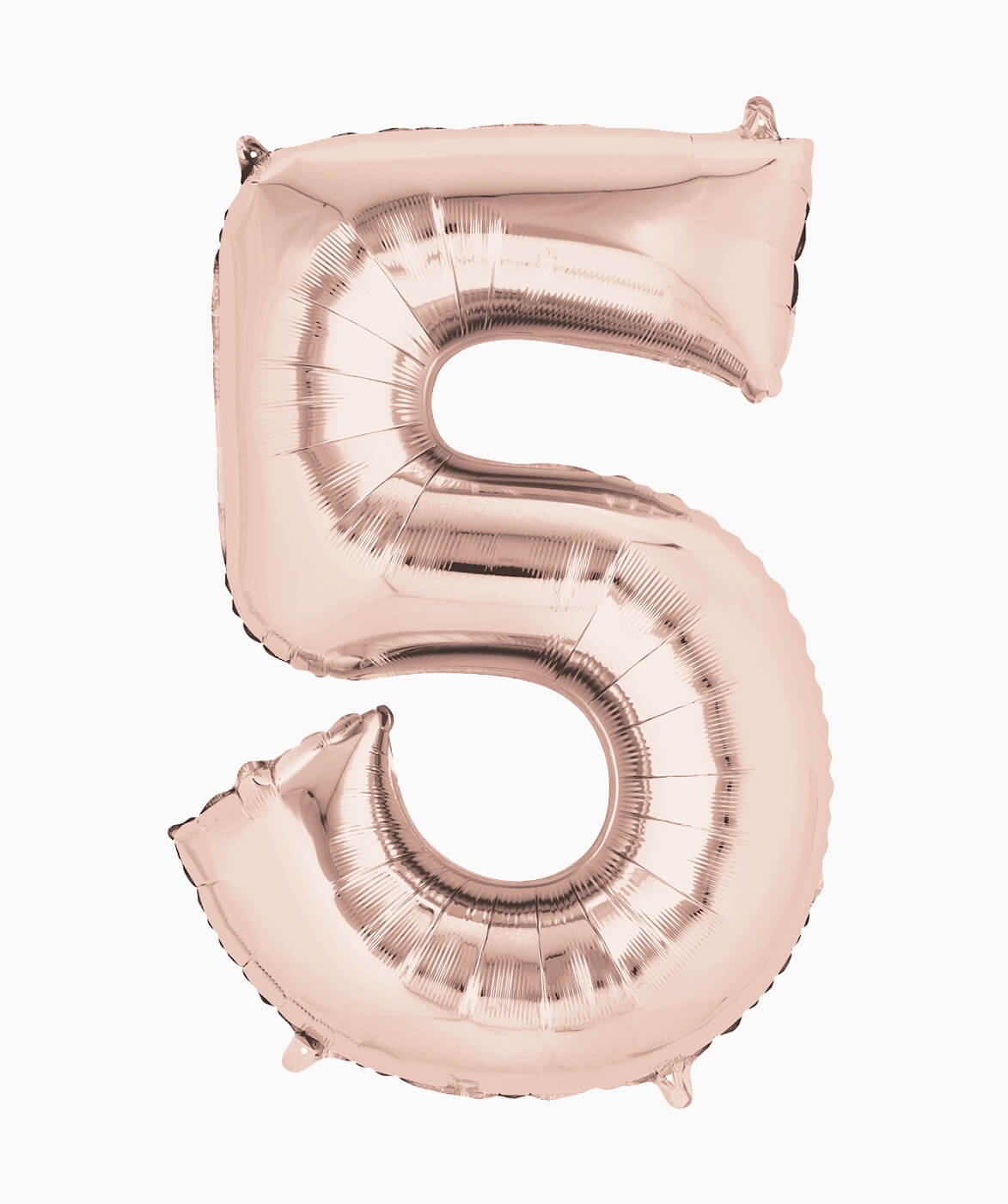 ROSE GOLD NUMBER BALLOON FIVE