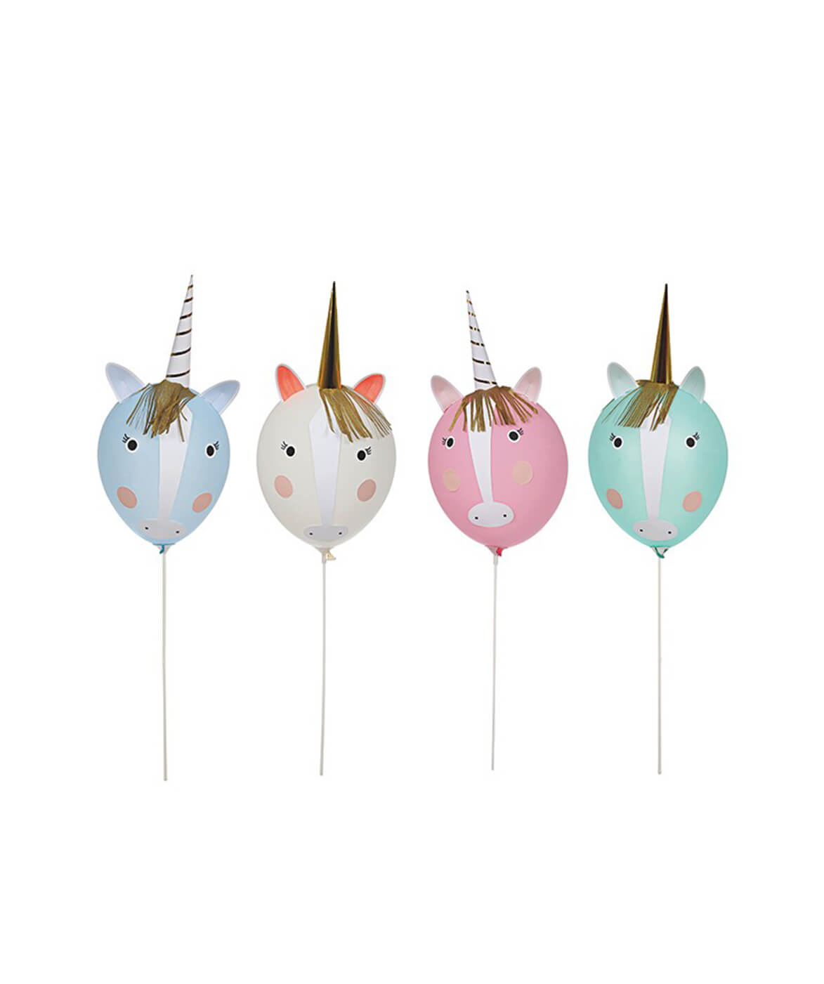 UNICORN & RAINBOWS BALLOON KIT