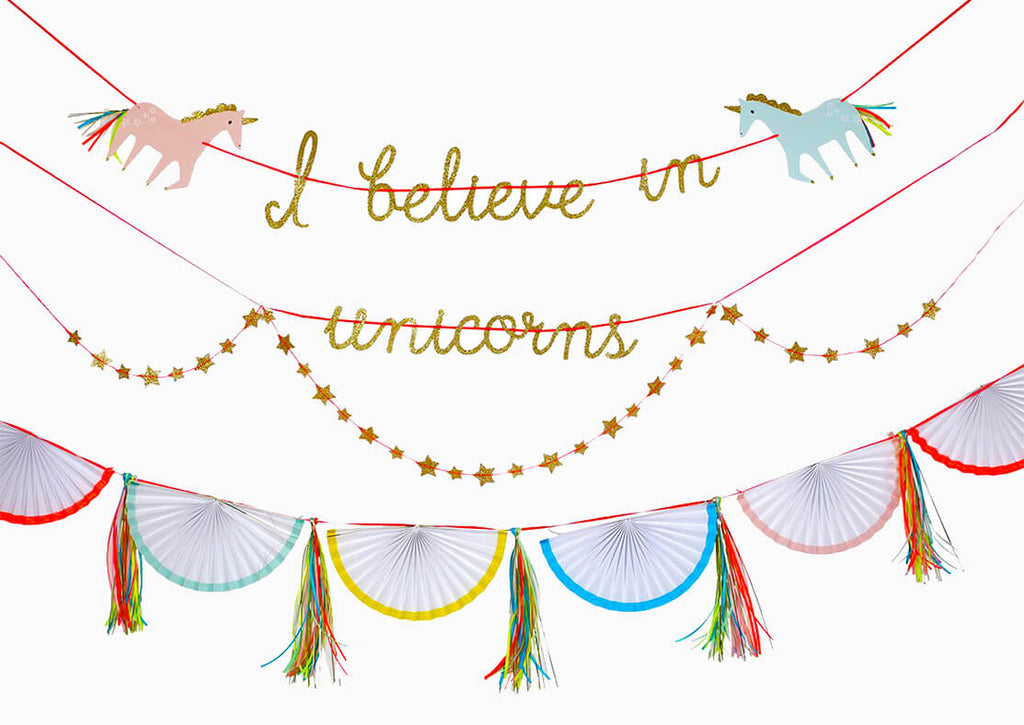 UNICORN GARLAND (ONLY 1 LEFT IN STOCK)