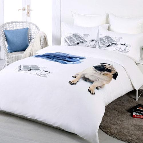 Georges Fine Linen Good Dog Quilt Cover Set or Accessories