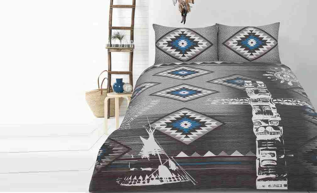 Retro Home Tribe Quilt Cover Set or Accessories