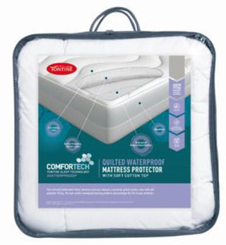 Tontine Comfortech Quilted Waterproof Mattress Protector