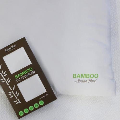 Bubba Blue Bamboo Cot Pillow+free pillow case