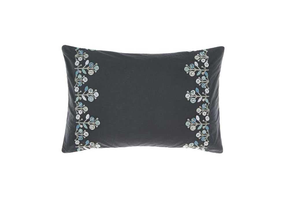 Linen House Darwin Grey Long Cushion (40x60cm)