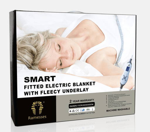 Ramesses Fitted Electric Blanket with Fleece Underlay