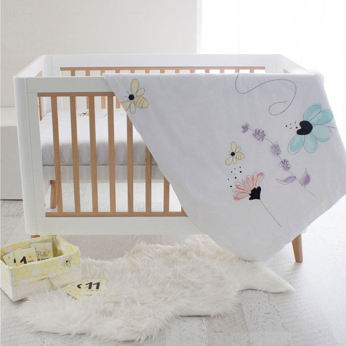 Bubba Blue Bee Beautiful 6 Piece Cot Gift Basket