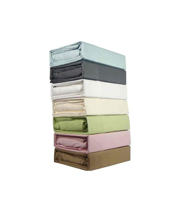 Kingtex Hotel Quality 300 Thread Count Cotton Sateen Sheet Set