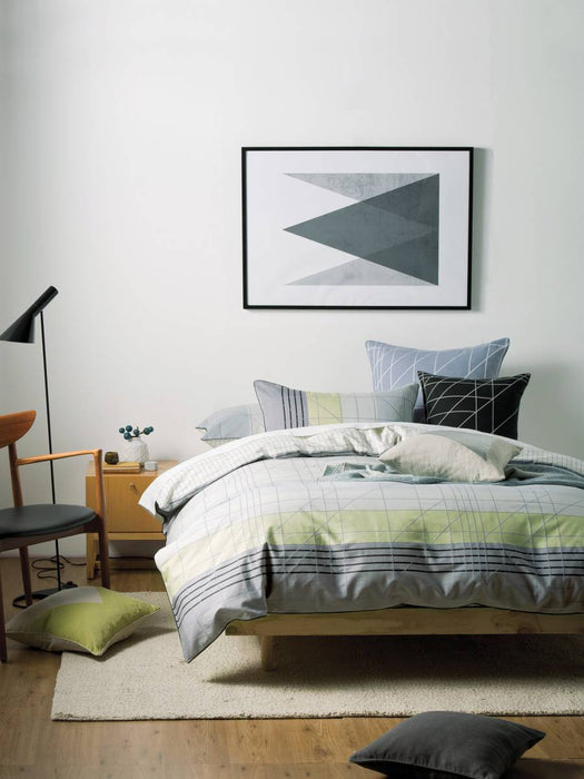 Linen House Lifestyle Tangent Quilt Cover Set