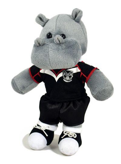 Official NRL New Zealand Warriors Sitting Hippo