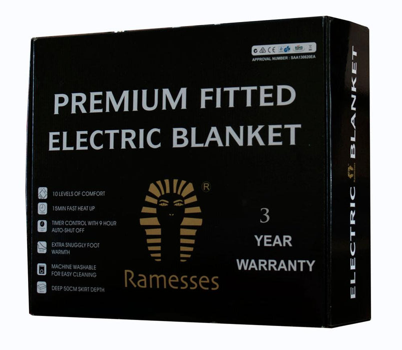 Ramesses Fully Fitted Electric Blankets