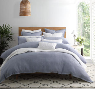 Private Collection Dash Chambray Quilt Cover Set