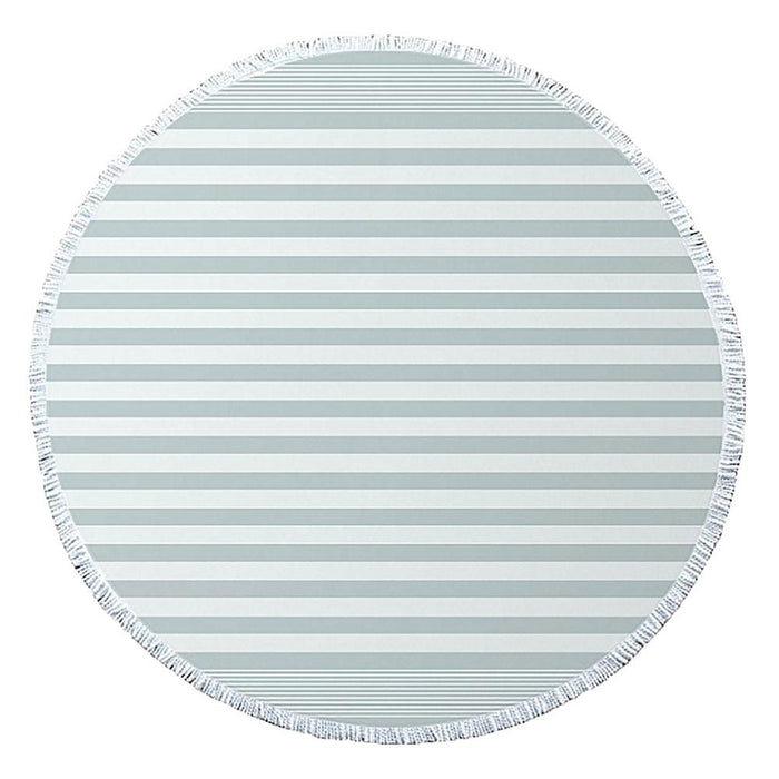 J.Elliot Turkish Round Beach Towel - Duck Egg