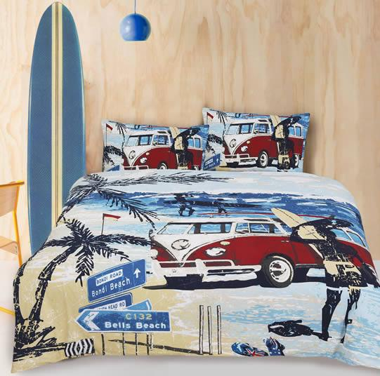 Retro Home Summer Quilt Cover Set
