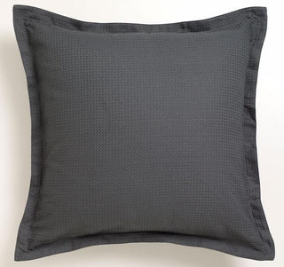 Logan and Mason Ascot Waffle Granite European Pillow Case