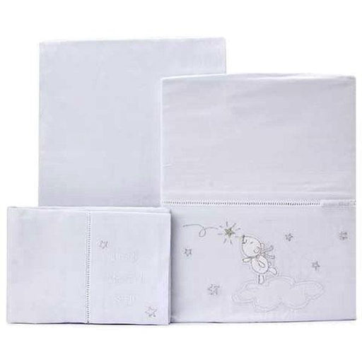 Bubba Blue Wish Upon a Star Cot Sheet Set