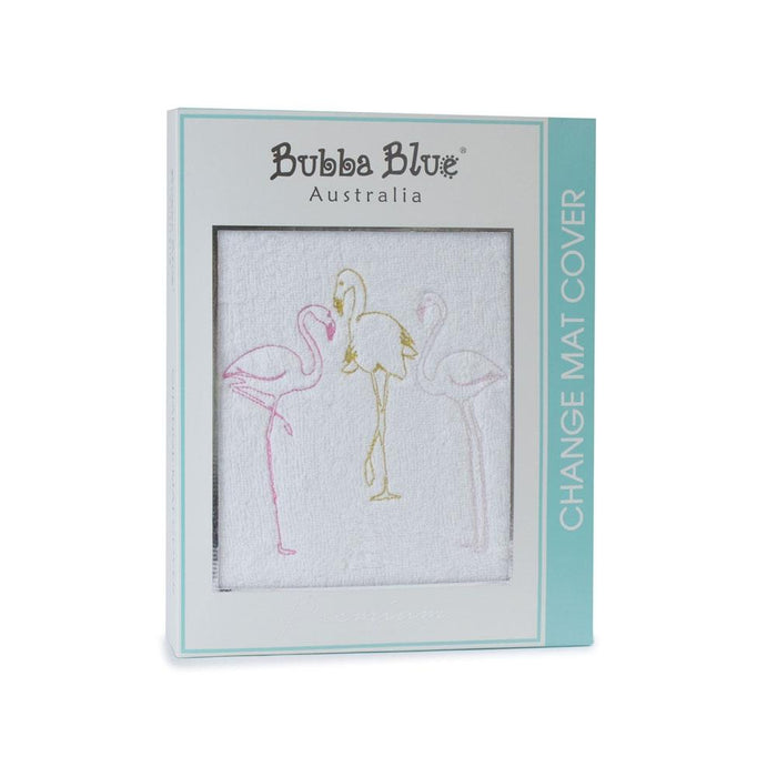 Bubba Blue Flamingo Change Mat Cover