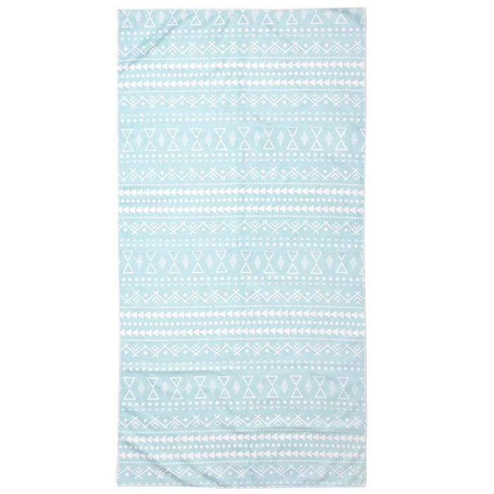 Bambury Printed Microfibre Pacific Sports Towel