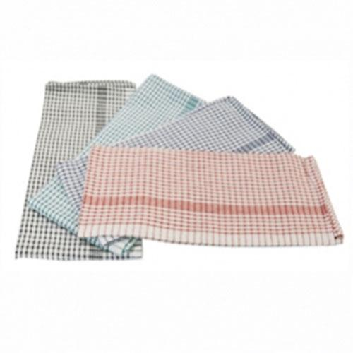 Hilton Jumbo Check Tea Towel 8 Pack