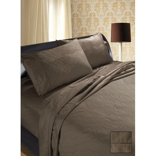 Ramesses Wave Jacquard Cotton Sateen Sheet Set