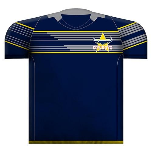 Official NRL North Queensland Cowboys Jersey Cushion