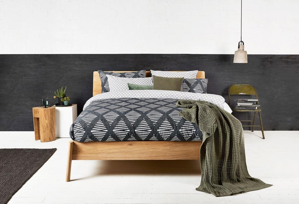 Ardor Reversible 250 Thread Count Java Ebony Quilt Cover Set or Accessories