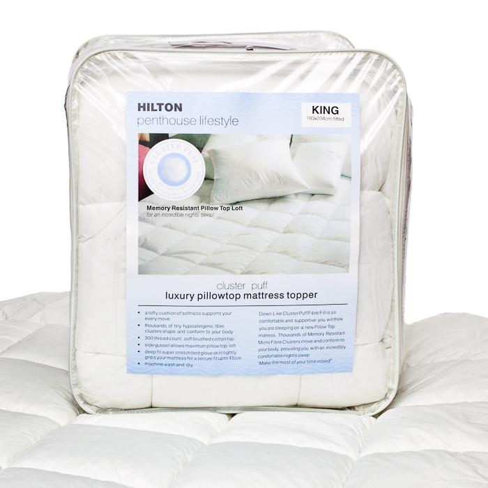 Hilton Luxury Mattress Topper