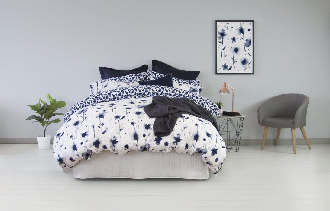 Ardor Inca Blue Quilt Cover Set or Accessories