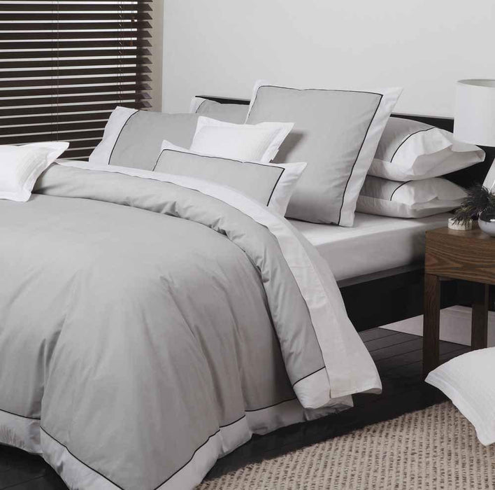 Logan & Mason Essex Pewter Quilt Cover Set