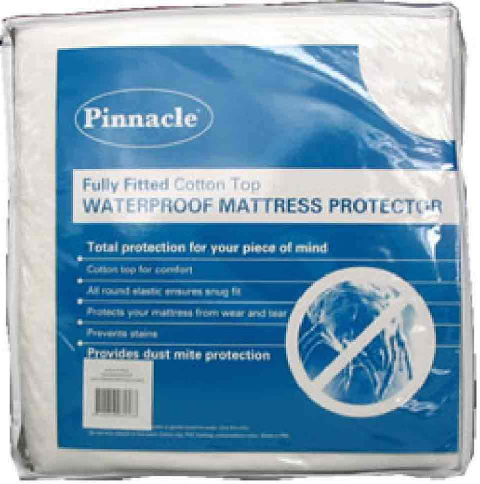 Pinnacle Fully Fitted Waterproof Mattress Protector