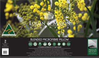 Logan & Mason Blended Microfibre Pillow